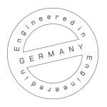 Zaprojektowano w Niemczech
